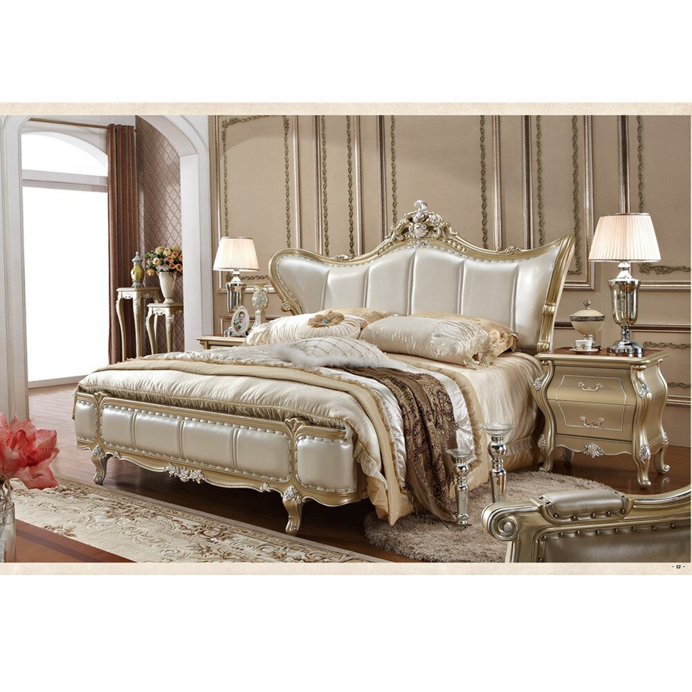 Best High Quality Classic Wood Furniture Bedroom In Bedroom With Pictures