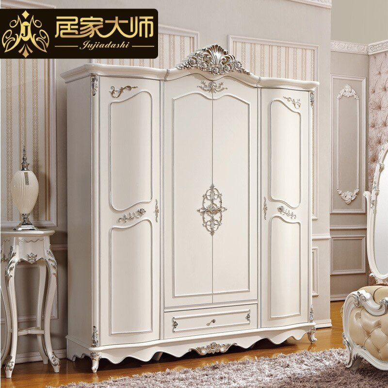 Best French Style Bedroom Furniture Wood Combinations White Wardrobe Cabinet Closet Storage Armoire With Pictures
