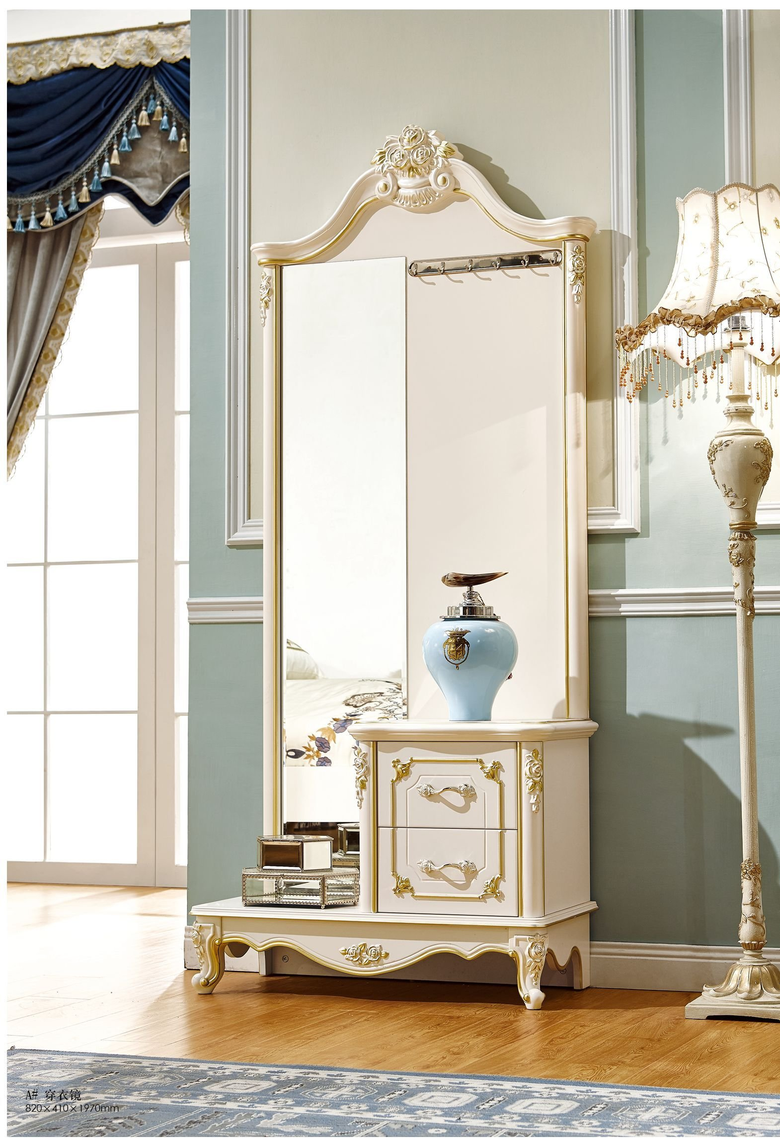 Best Luxury Furniture French Dressing Table Mirror For Bedroom With Pictures