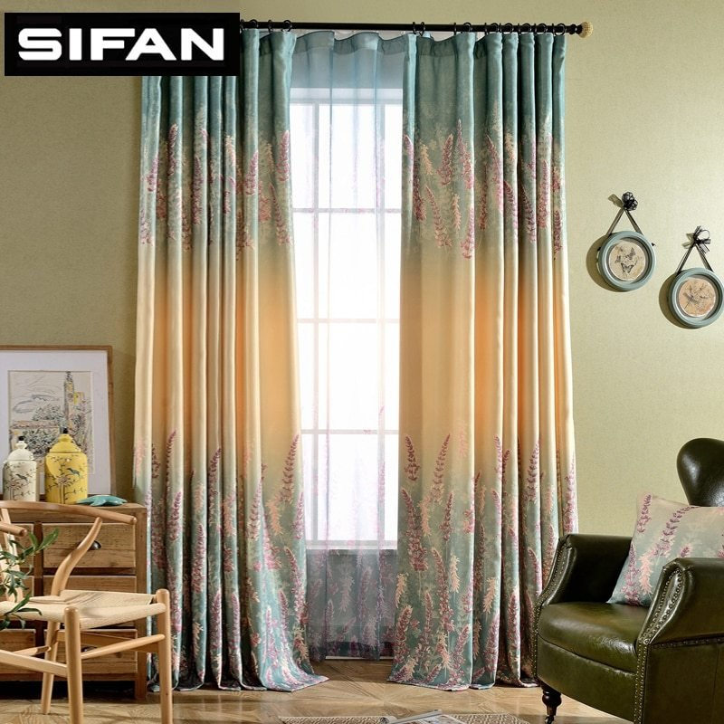 Best Lavender Fancy Window Curtains For The Bedroom For Living Room Decorative Modern Curtains Drapes With Pictures