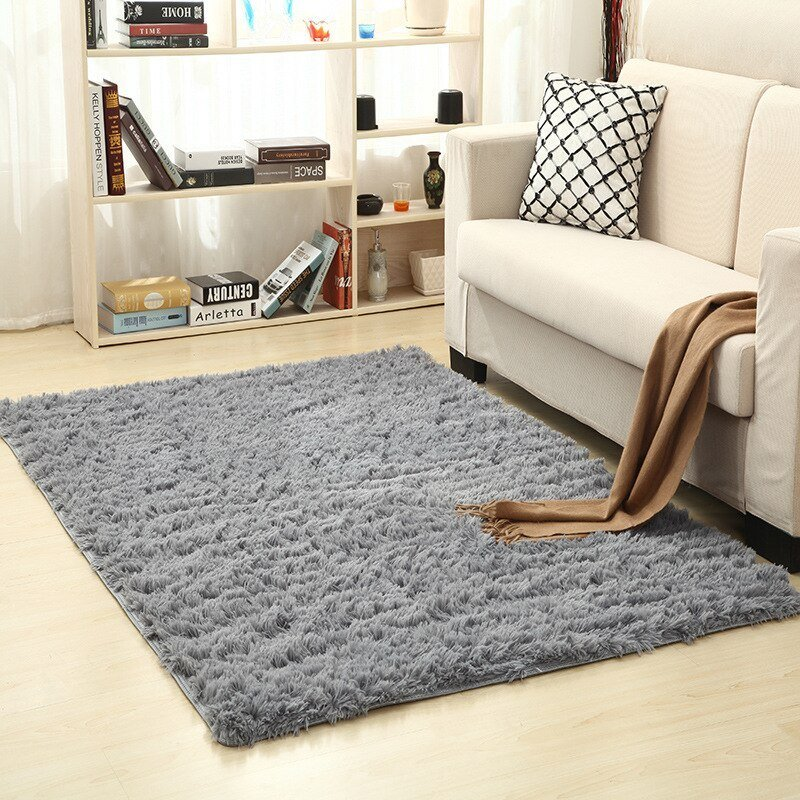 Best Super Soft Silk Wool Rug Indoor Modern Sh*G Area Rug Silky With Pictures