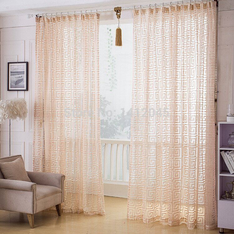 Best Fashion Quality Finished Window Screening Modern Tulle Net With Pictures