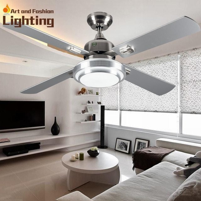 Best Super Quiet Ceiling Fan Lights Large 52 Inches Modern With Pictures