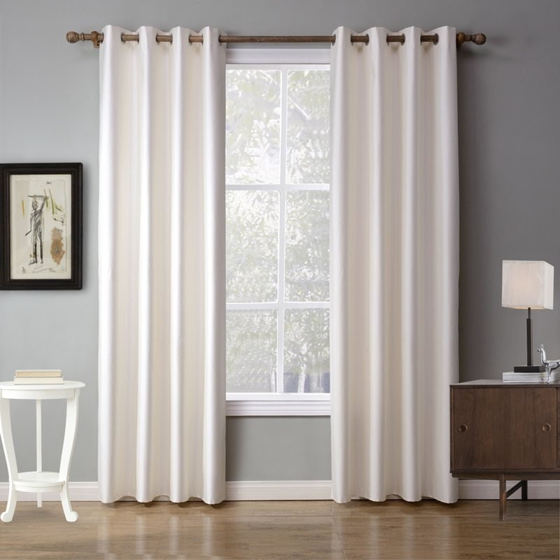 Best Europe And America Solid White Curtain For Bedroom Decorative Blackout Curtain Window Curtain With Pictures