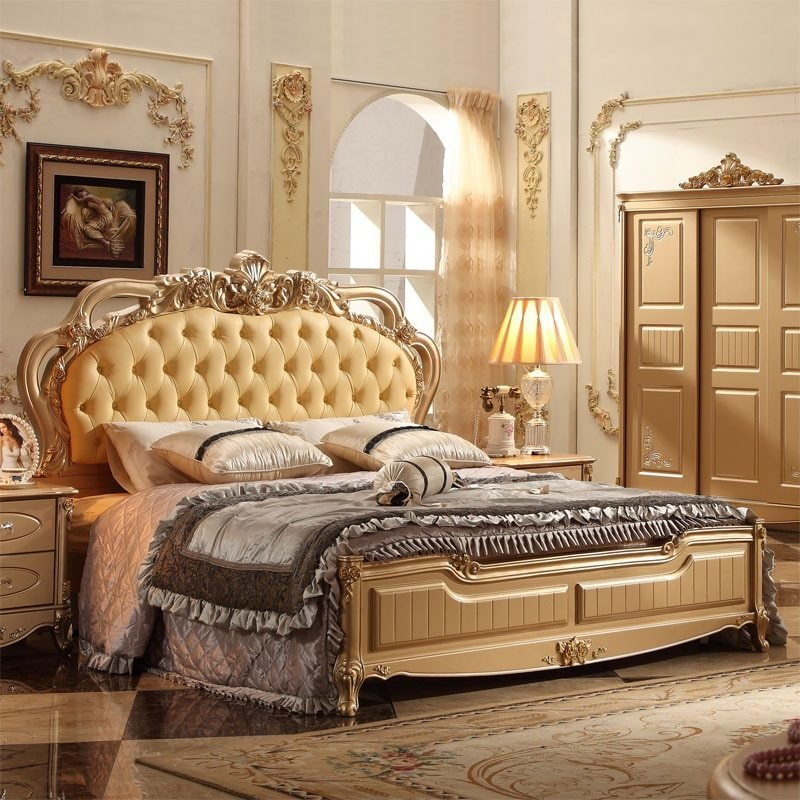 Best Classical Italian Bedroom Set With Good Quality In Bedroom With Pictures