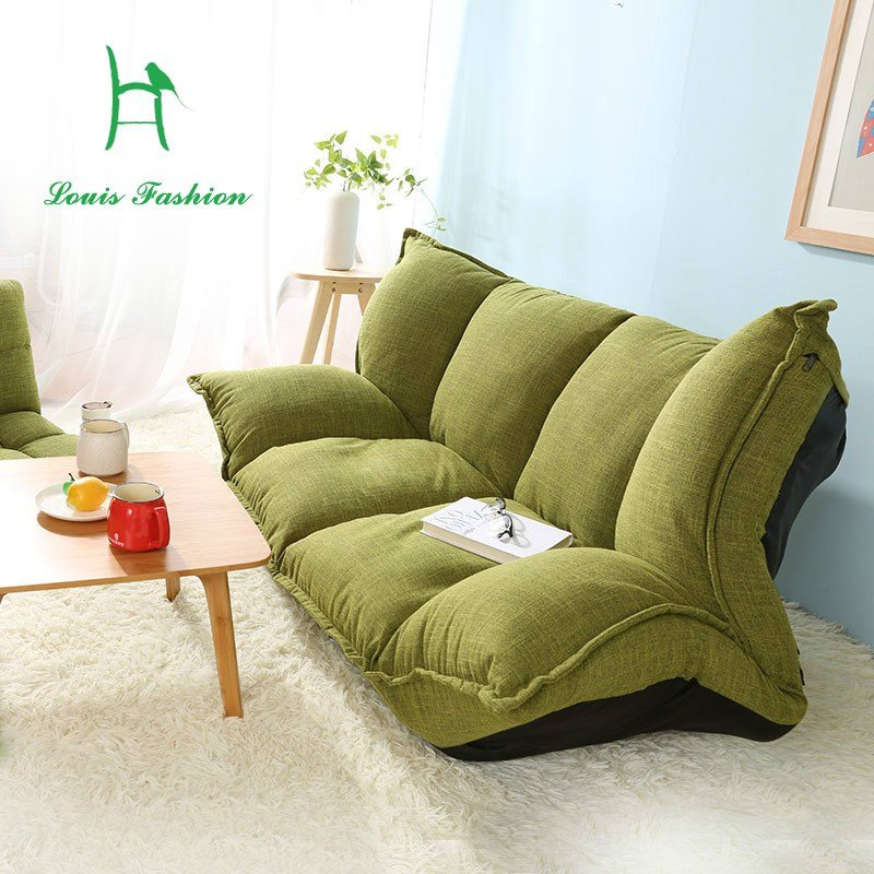 Best Wood And Lazy Sofa Bed Japanese Tatami Sofa Simple Bedroom With Pictures