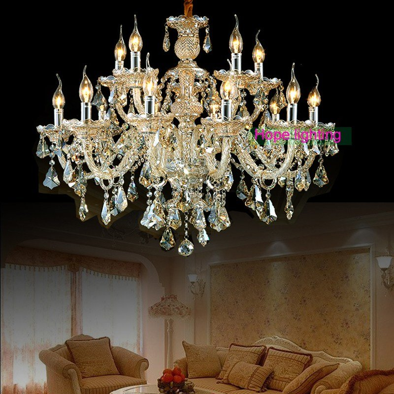 Best Chandeliers Large Chandelier Lighting Top K9 Crystal With Pictures