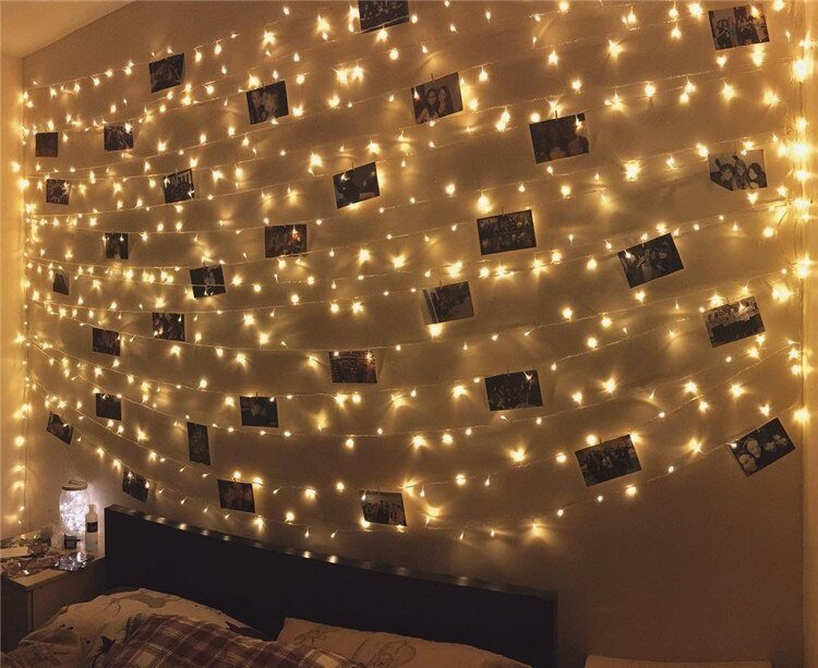 Best 10M 100Leds Starry Lights Fairy Holiday Silvery Wire With Pictures