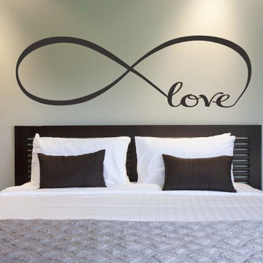 Best 22 60Cm 44 120Cm Bedroom Wall Stickers Decor Infinity With Pictures