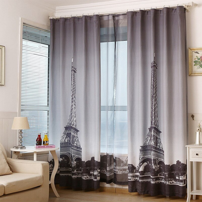 Best Online Buy Wholesale Eiffel Tower Curtains From China With Pictures