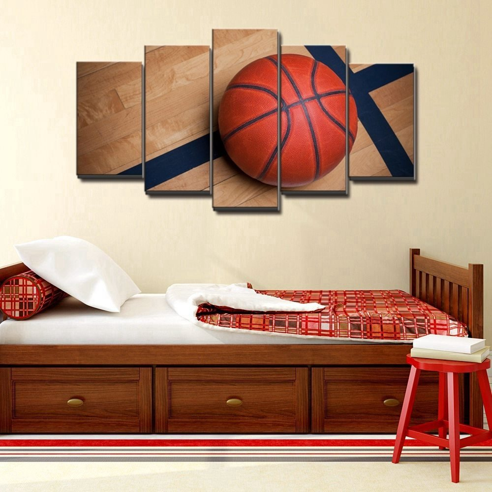 Best Basketball Sports Canvas Wall Art For Boys Bedroom Decor With Pictures