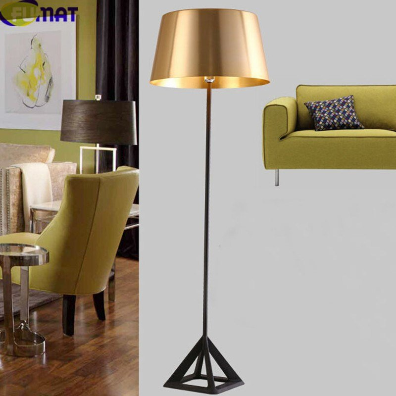Best Fumat Gold Floor Lamps Modern Standing Lamps Foyer Lampara With Pictures