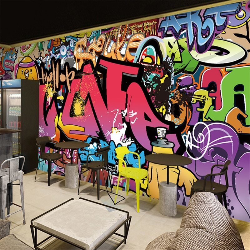 Best Beibehang Free Shipping Large Mural Bar Corridor With Pictures