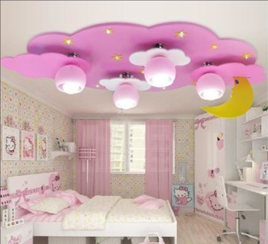 Best Kids Children Room To Absorb Dome Clouds Moon Light Male With Pictures