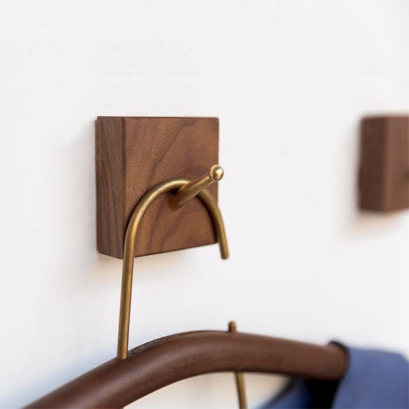 Best Creative Wood Coat Hooks Decorative Wall Hook Minimalist With Pictures