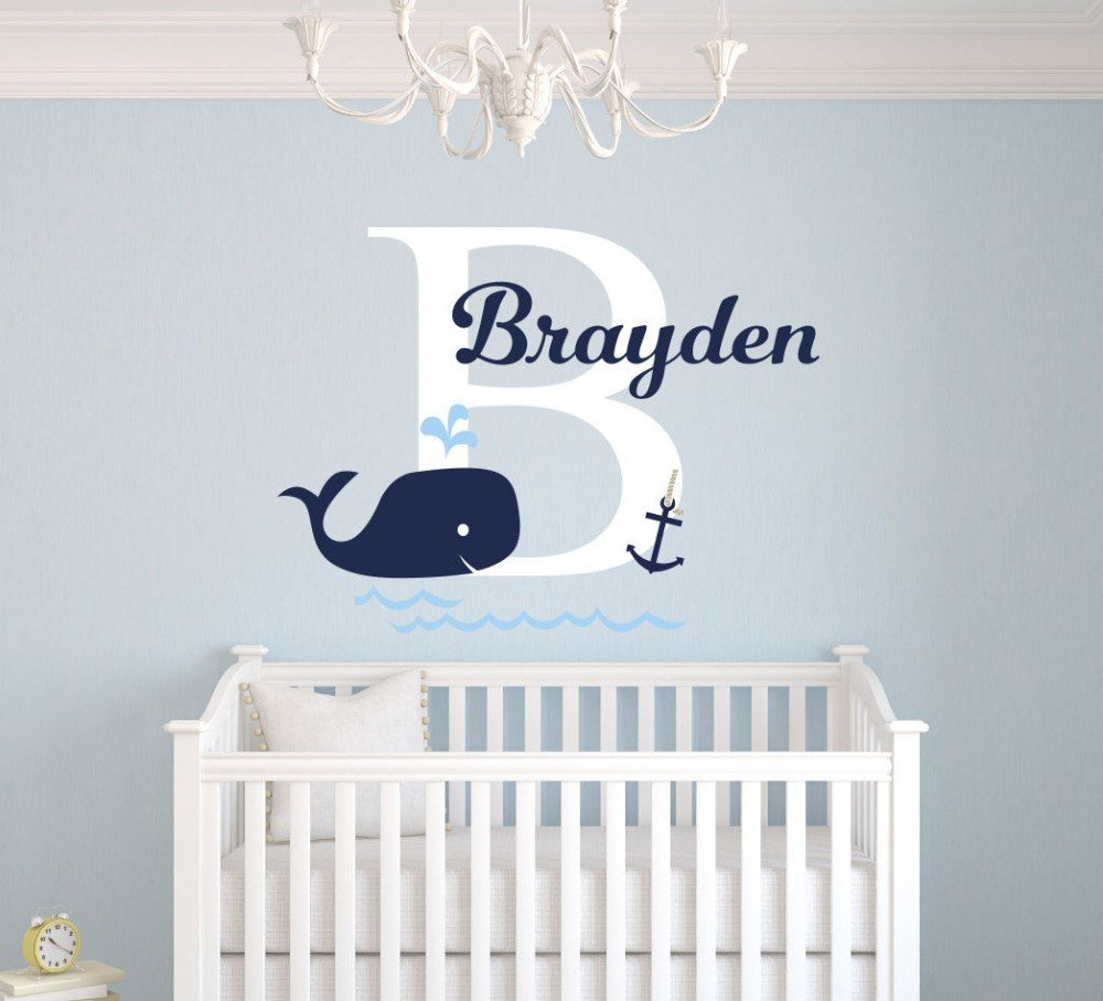 Best Custom Name Elephant Wall Stickers For Kids Room With Pictures