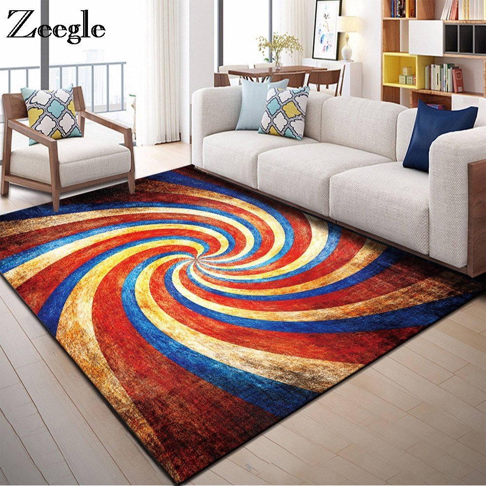 Best Zeegle Nordic Carpets For Living Room Home Decor Floor With Pictures