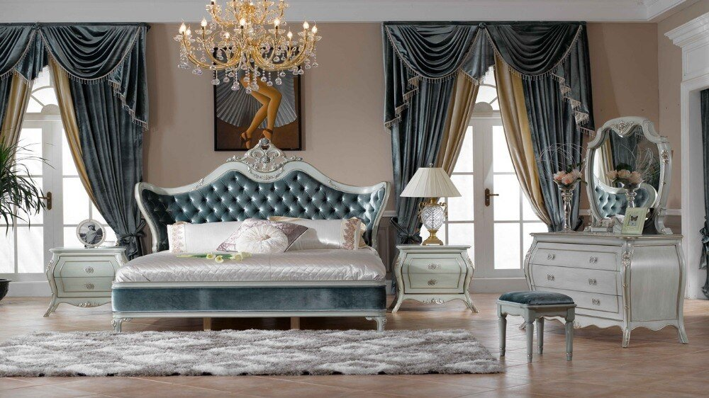 Best New Design Antique Luxury Bedroom Furniture Bed In Beds With Pictures