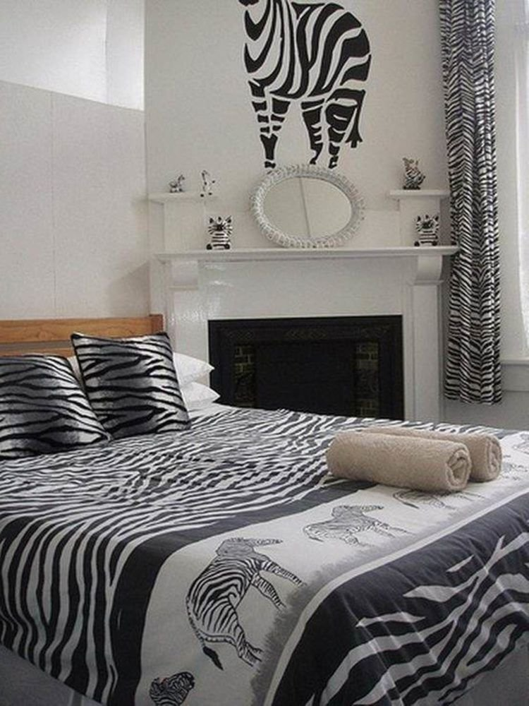 Best 20 Cool Bedrooms With Zebra Print Decor With Pictures