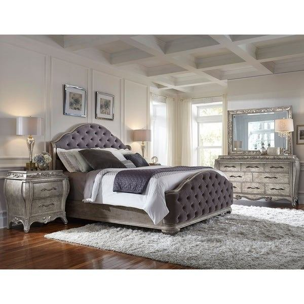 Best Shop Anastasia 5 Piece King Size Bedroom Set On Sale With Pictures