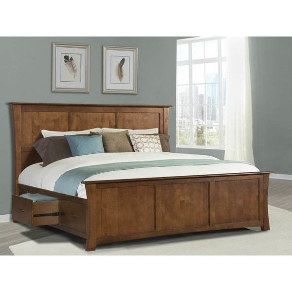 Best Shop Simply Solid Avett Solid Wood 4 Piece Queen Bedroom Collection On Sale Free Shipping With Pictures