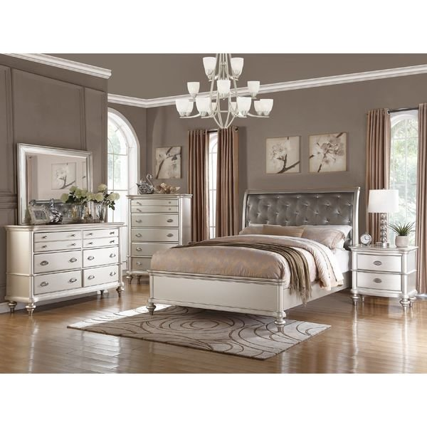 Best Saveria 4 Piece Bedroom Set Free Shipping Today With Pictures