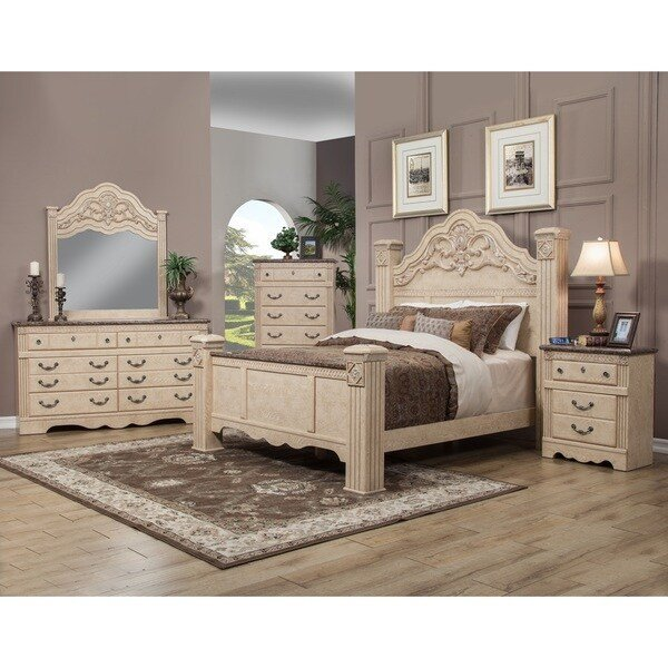 Best Shop Sandberg Furniture Amalfi Estate Bedroom Set Free Shipping Today Overstock 14354142 With Pictures
