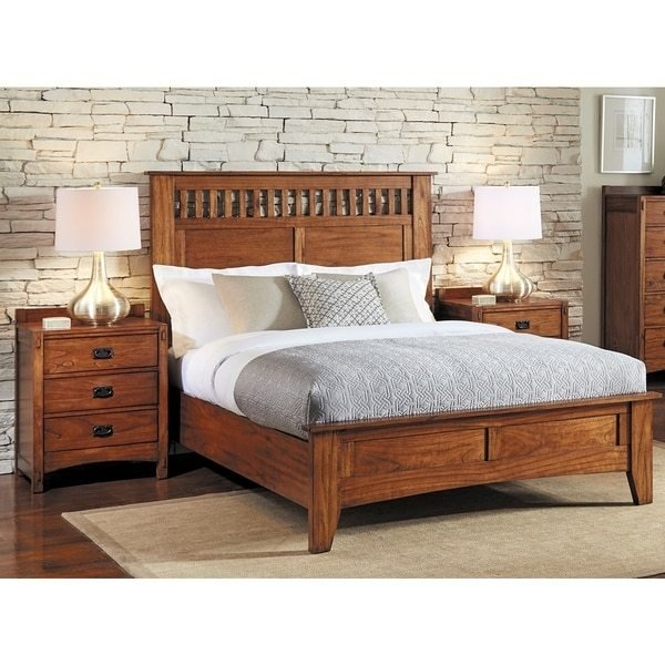 Best Shop Milla 3 Piece Solid Wood King Bedroom Set Free With Pictures