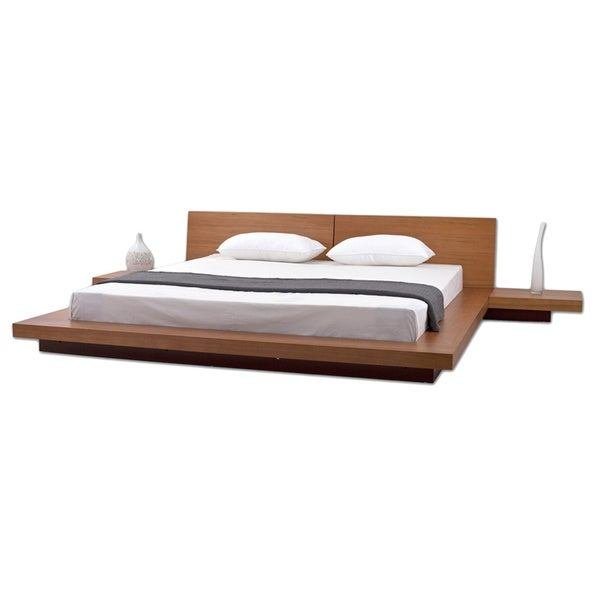 Best Shop Fujian 3 Piece King Size Platform Mid Century Style With Pictures