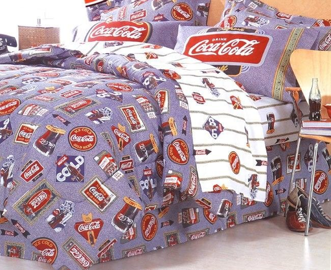 Best Shop Coca Cola Bed In A Bag Free Shipping Today With Pictures