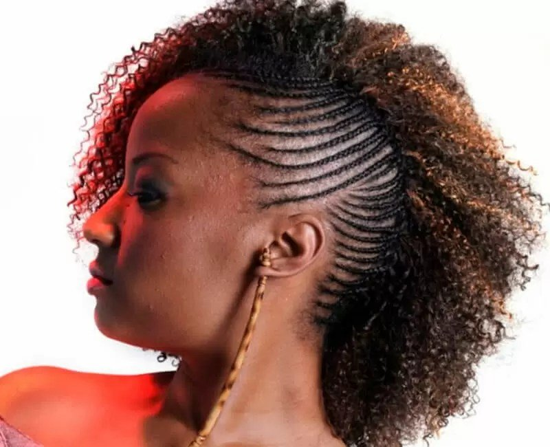 Free Natural Hairstyles For African American Women And Girls Wallpaper
