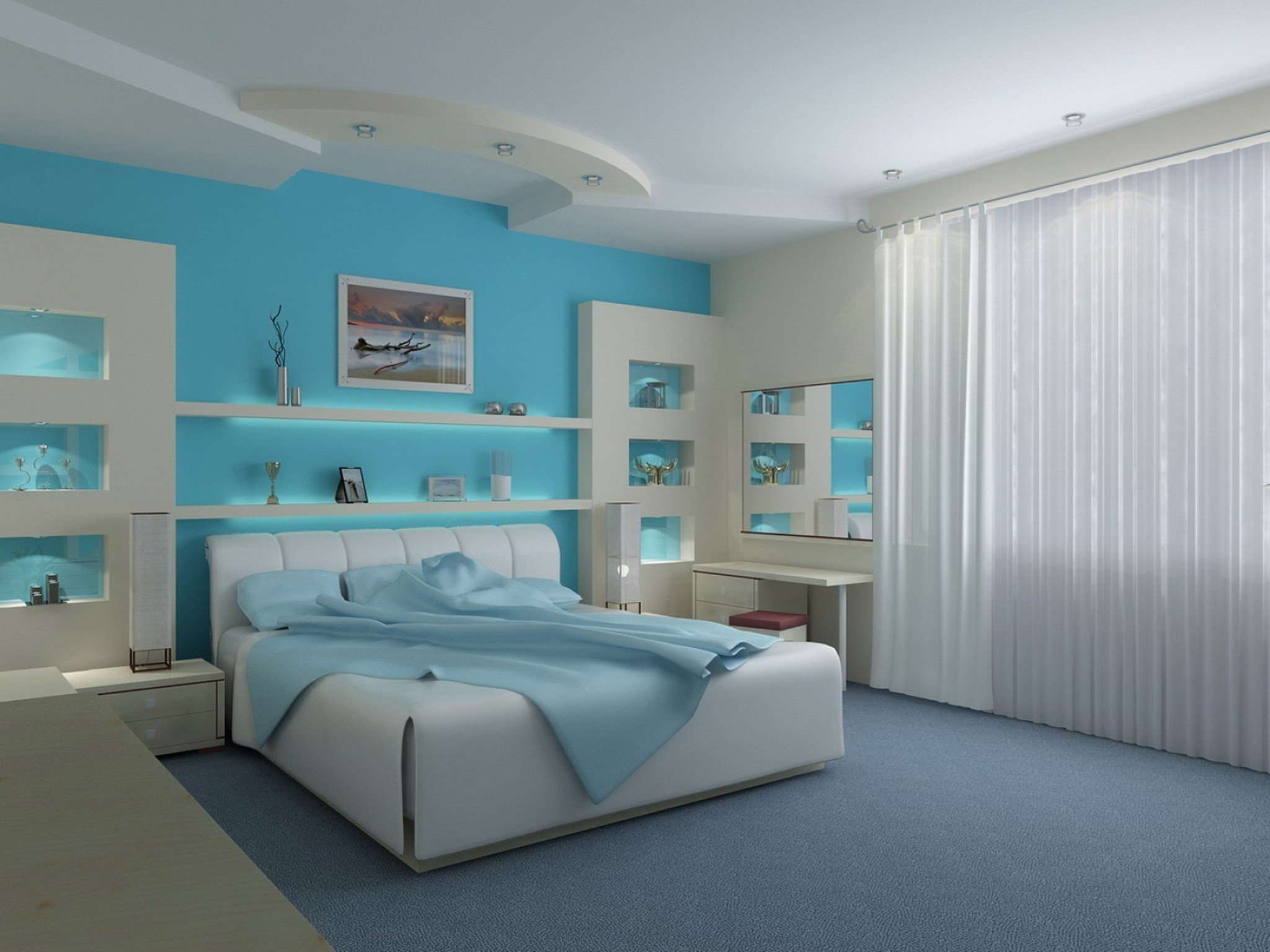 Best Modern Blue Bedroom Ideas Www Resnooze Com With Pictures