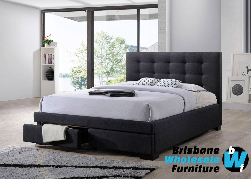 Best Bronte King And Queen Bed Brisbane Wholesale Furniture With Pictures