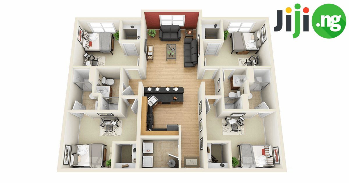 Best 4 Bedroom Bungalow House Plans In Nigeria Jiji Ng Blog With Pictures