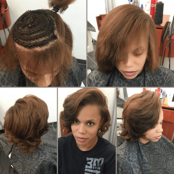 Free Natural Partial Sew In By Hairbylatise Black Hair Wallpaper