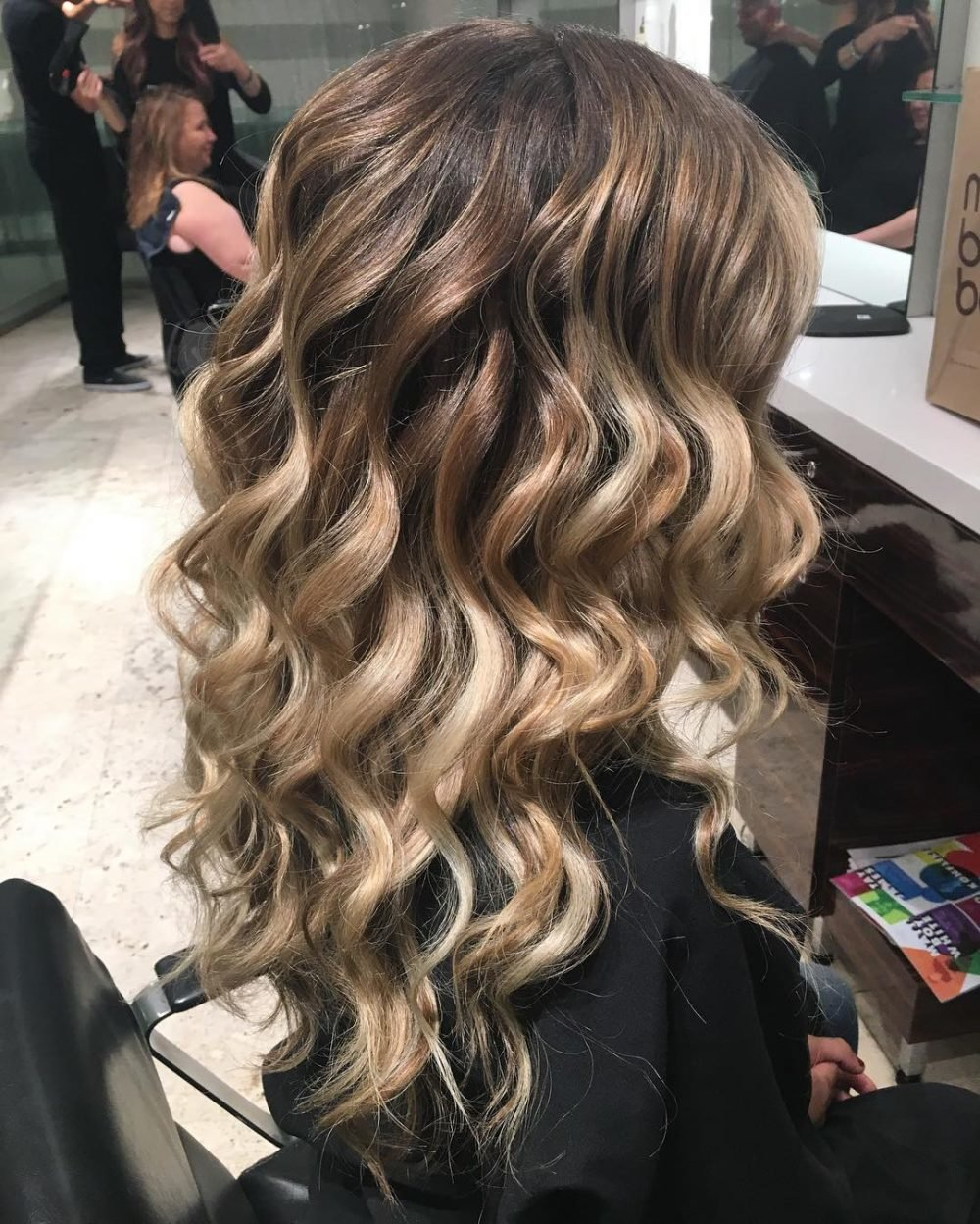 Free 18 Stunning Curly Prom Hairstyles For 2019 Updos Down Wallpaper