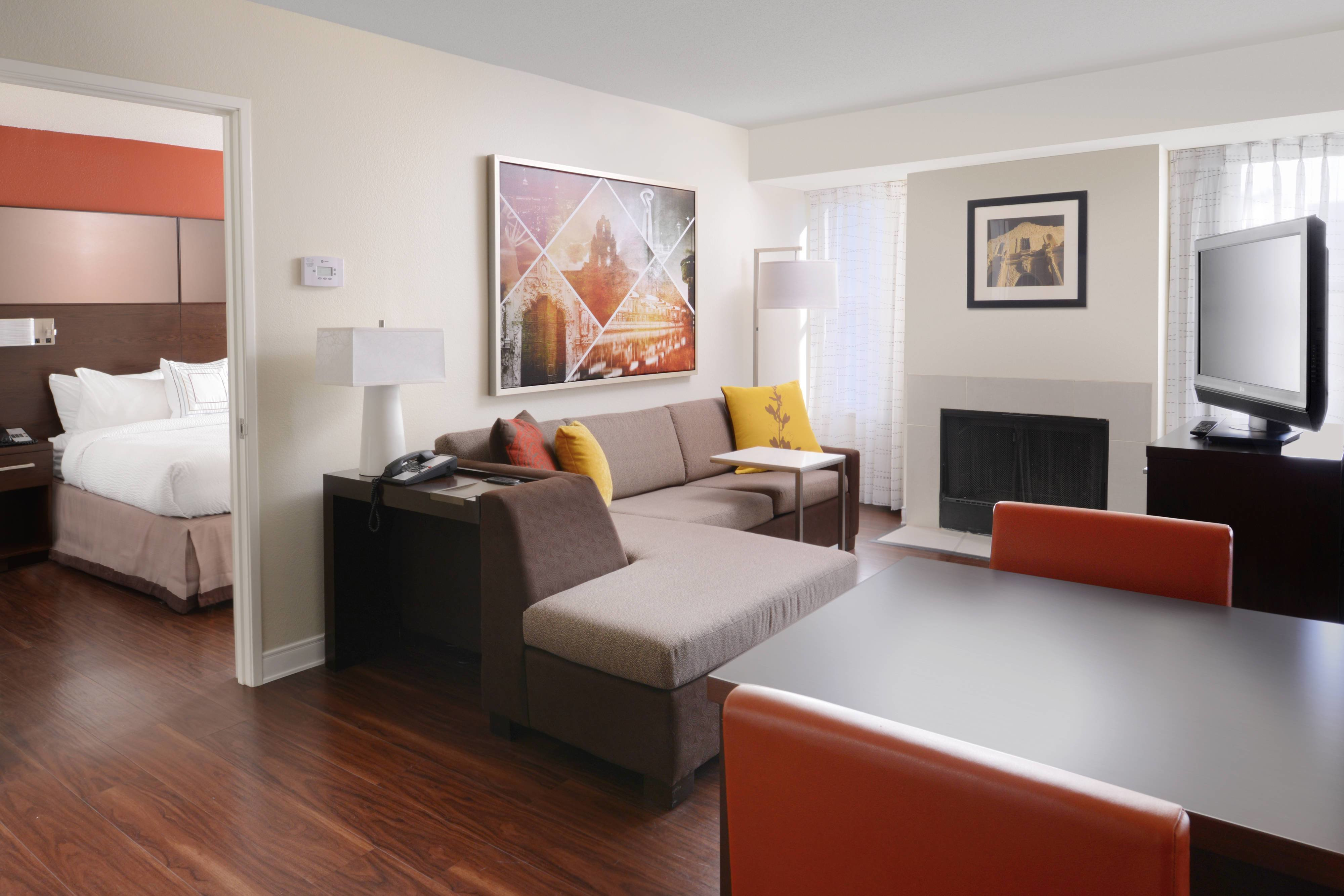 Best Hotel Rooms In San Antonio Texas Residence Inn San With Pictures