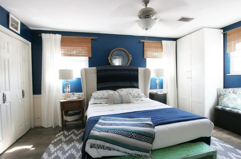 Best Navy Master Bedroom Reveal – Craftivity Designs With Pictures