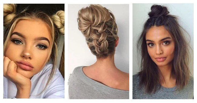 Free 20 Easy Hairstyles For Long Short And Medium Length Hair Wallpaper