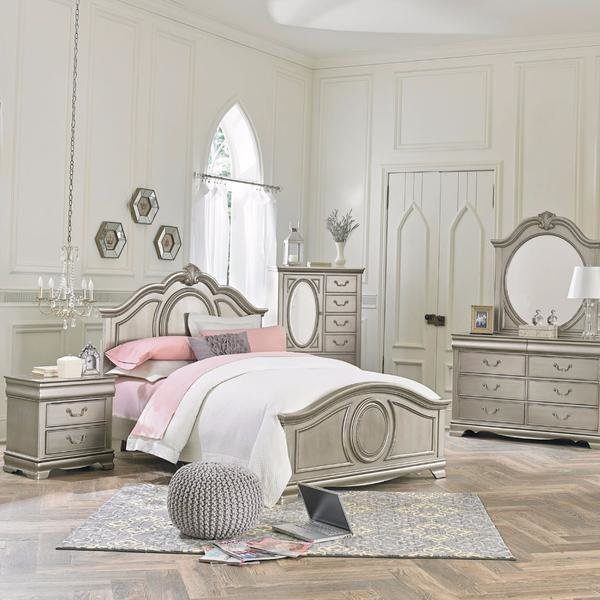 Best Jessica Silver Youth Bedroom Set – Adams Furniture With Pictures