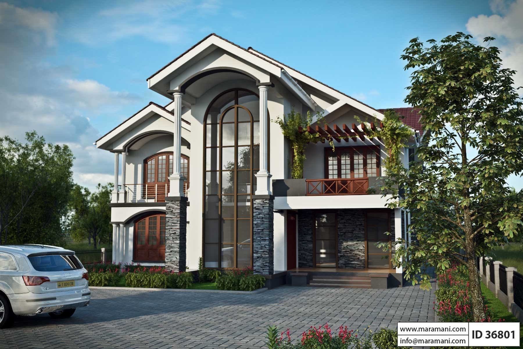 Best 6 Bedroom House Plan In Ghana With Pictures