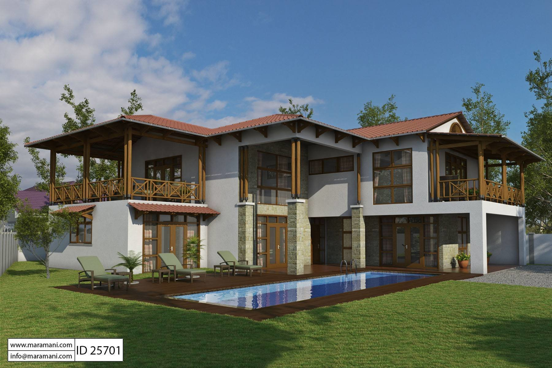 Best Bali Style House With 5 Bedrooms Id 25701 House Plans With Pictures