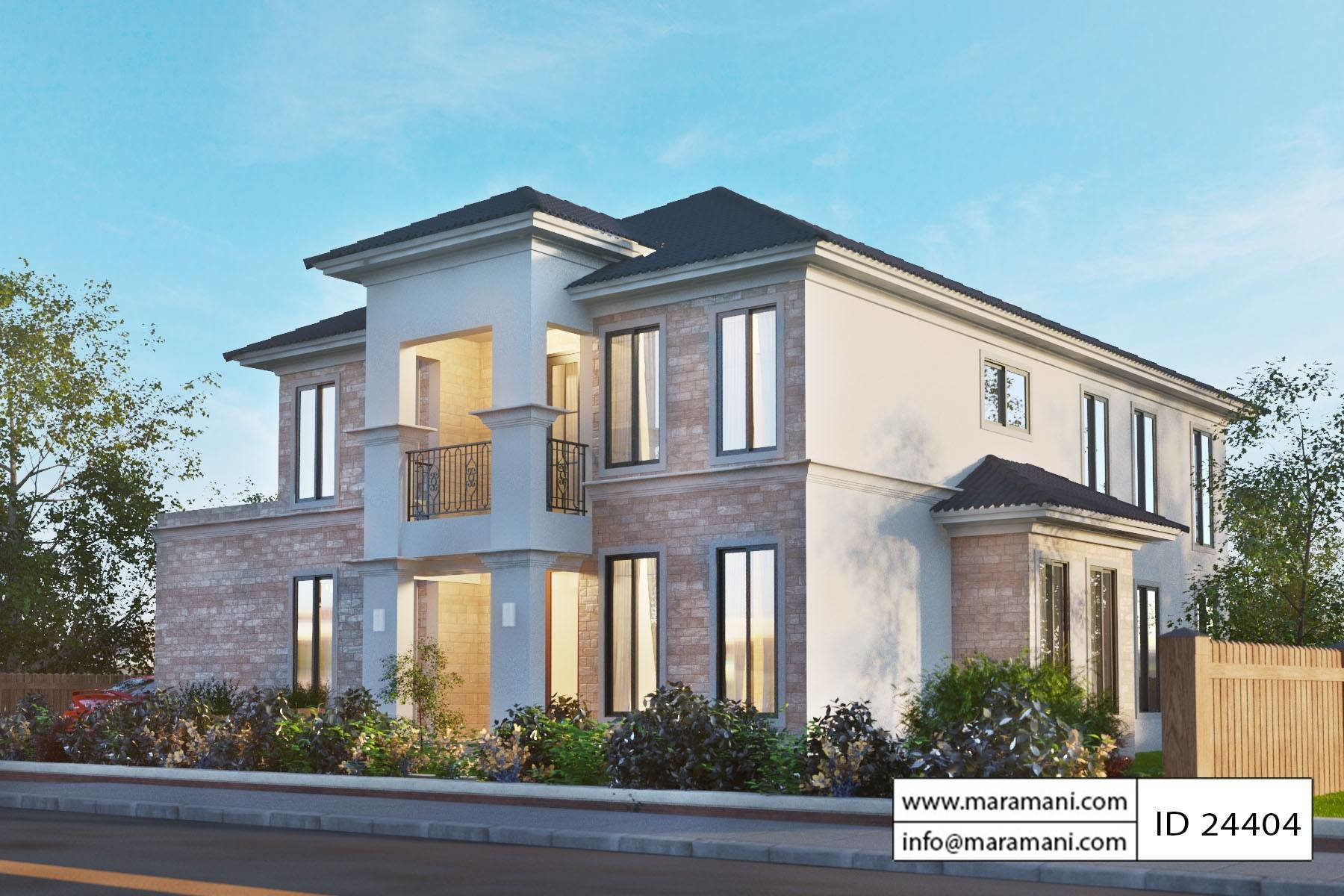 Best Four Bedroom Modern House Plan House Plans Maramani Com With Pictures