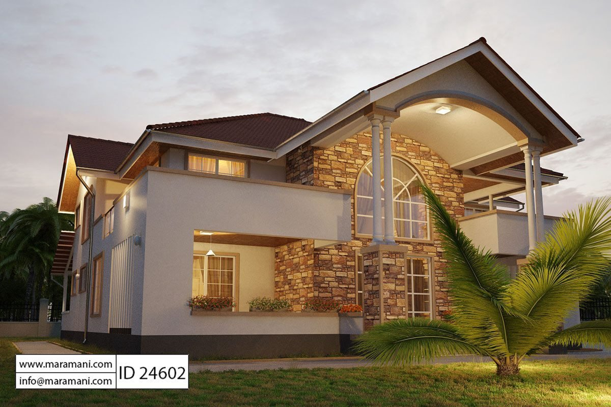 Best 4 Bedroom House Plan Id 24602 House Plans By Maramani With Pictures
