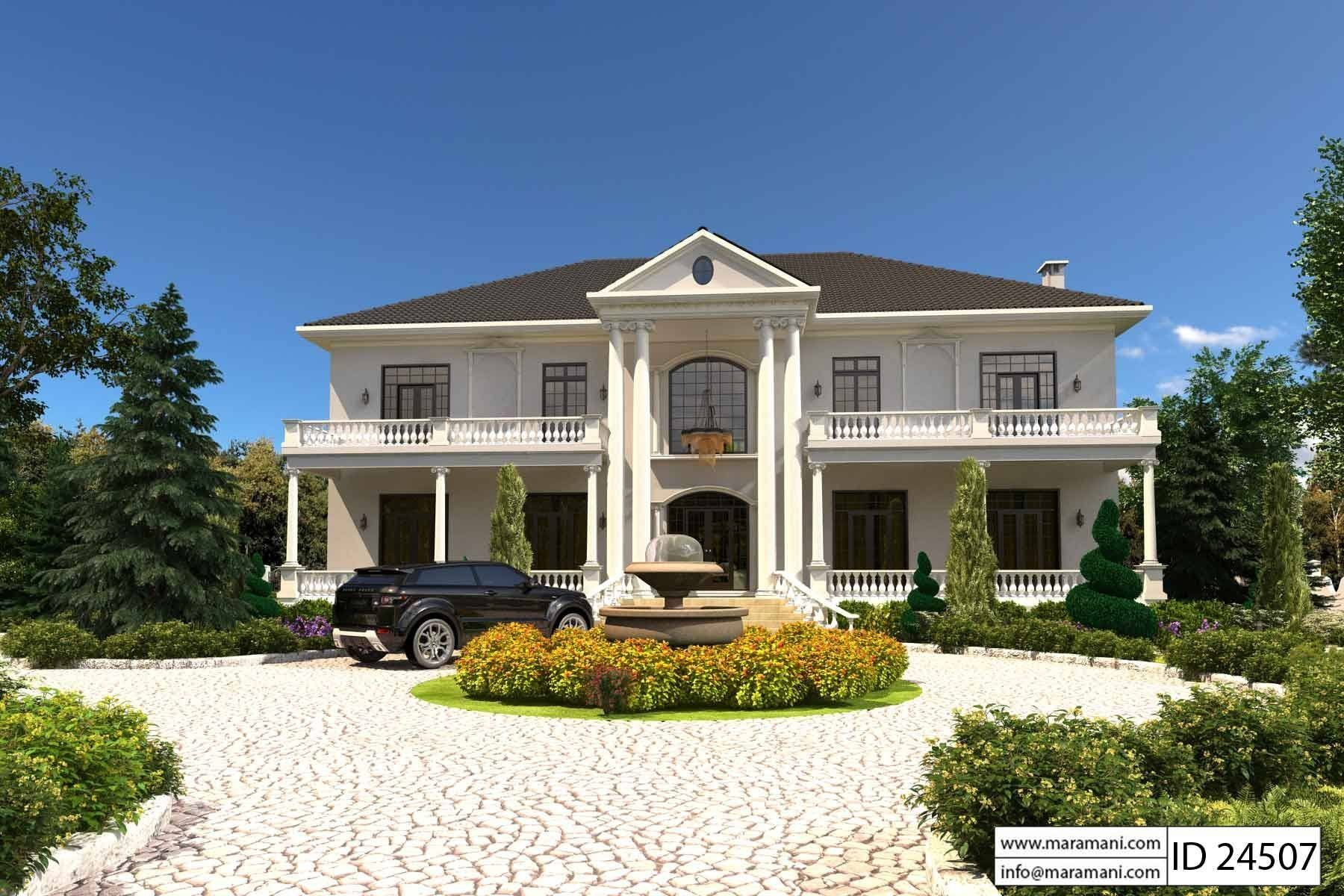 Best 4 Bedroom Maisonette Id 24507 House Plans By Maramani With Pictures