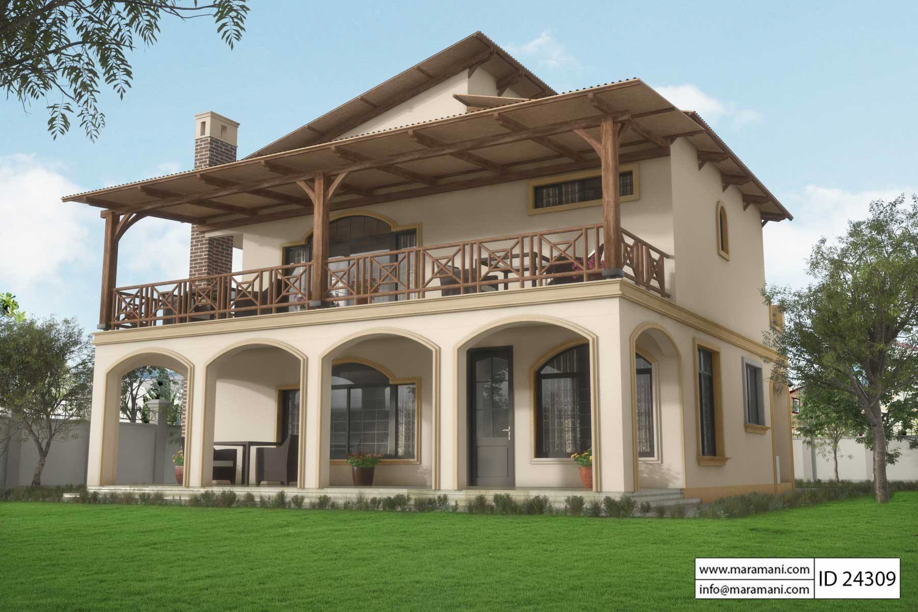 Best 4 Brs Modern Contemporary House Plan Id 24309 Designs By Maramani With Pictures