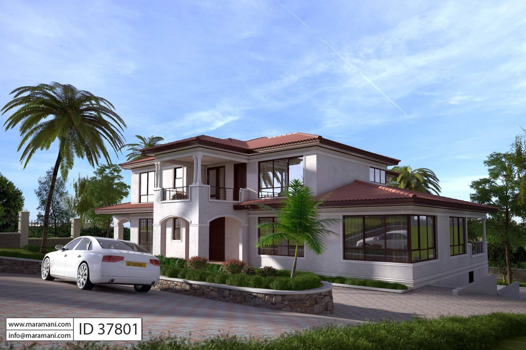 Best 7 Bedroom House Design Id 37801 House Designs By Maramani With Pictures