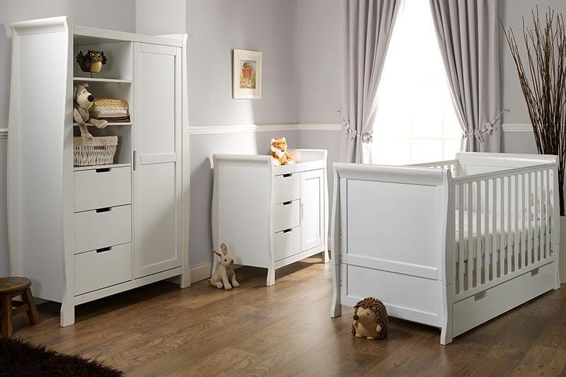 Best Stamford Cot Bed 3 Piece Bedroom Furniture Set White With Pictures