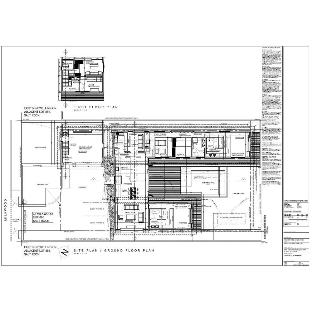Best 4 Bedroom House Plan Eagles Crescent Ready2Build With Pictures