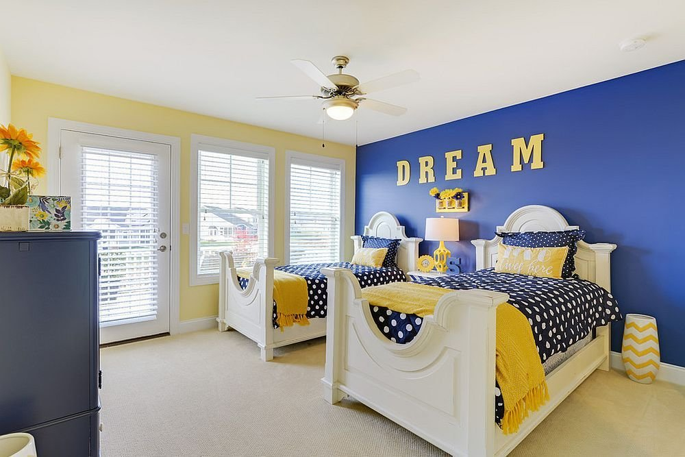 Best Trendy And Timeless 20 Kids' Rooms In Yellow And Blue With Pictures